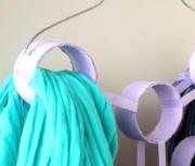 Riciclo creativo: un organizer per foulard - AcquistiVerdi.it