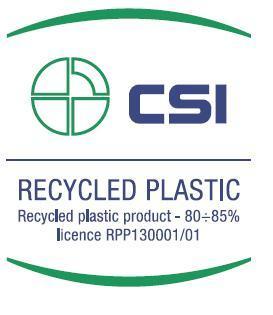 CSICERT Recycled Plastic - AcquistiVerdi.it