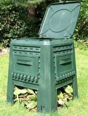 Compostiera in plastica riciclata  - Angelo Gianazza Spa - Gestione Rifiuti e Verde, Raccolta Differenziata Professionale, Per il GPP, Per l'Azienda