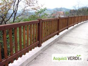 Parapetto ad elementi verticali - Margaritelli - Arredi, Arredo Urbano, Sicurezza Stradale, Per l'Azienda