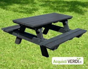 Tavolo panca small - Preco System - Per gli Alberghi, Arredi, Arredo Urbano, Per il GPP, Per l'Azienda, Per la Scuola
