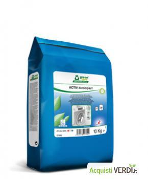 ACTIV bicompact - Detersivo per bucato ultra-concentrato - Werner & Mertz Professional - Pulizia e Igiene, Tessuti (pulizia professionale), Per gli Alberghi, Eventi Sostenibili, Per il GPP, Per l'Azienda, Per la Scuola