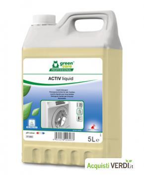 ACTIV liquid - detergente liquido completo per il bucato - Werner & Mertz Professional - Eco Ristorazione, Pulizia e Igiene, Tessuti (pulizia professionale), Per gli Alberghi, Eventi Sostenibili, Per il GPP, Per l'Azienda, Per la Scuola