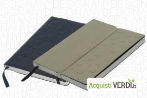 Agenda in carta di cotone riciclato  - Anydesign Srl - GPP, Gadget, Ufficio, Quaderni e Agende, Hotel Restaurants Catering, Regali Aziendali