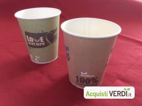 Bicchieri per bevande calde - SE.COM. - Per la Casa, Stoviglie Monouso, Bicchieri, Eco Ristorazione, Per gli Alberghi, Eventi Sostenibili, Per il GPP, Per l'Azienda, Per la Scuola