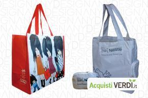 Borse in PET riciclato - Anydesign Srl - Eco Ristorazione, Imballaggi, Gadget, Per gli Alberghi, Eventi Sostenibili, Per l'Azienda