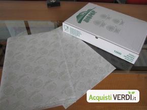 Carta da banco BIOPAP® WRAP  - Biopap - GPP, Imballaggi, Ho.Re.Ca.