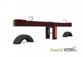 Dondolo a bilico in plastica riciclata - Green Projects - Per gli Alberghi, Arredi, Arredo Urbano, Per il GPP, Per l'Azienda, Per la Scuola