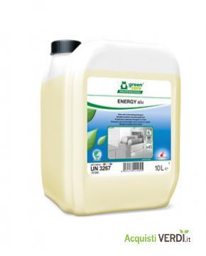 ENERGY alu - Detergente lavastoglie per materiali delicati - Werner & Mertz Professional - Eco Ristorazione, Pulizia e Igiene, Stoviglie (pulizia professionale), Per gli Alberghi, Eventi Sostenibili, Per il GPP, Per l'Azienda, Per la Scuola