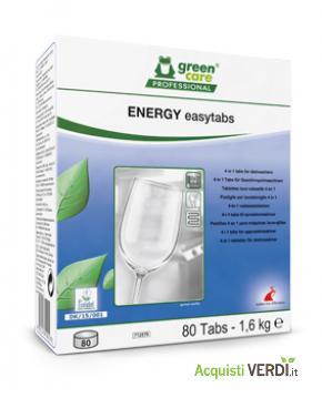 ENERGY easytabs - pastiglie per lavastoviglie - Werner & Mertz Professional - Eco Ristorazione, Pulizia e Igiene, Stoviglie (pulizia professionale), Per gli Alberghi, Per il GPP, Per l'Azienda