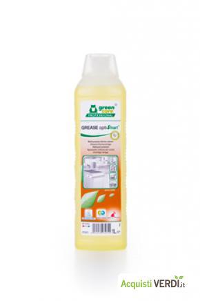 GREASE optiSmart - detergente per cucine - Werner & Mertz Professional - Eco Ristorazione, Pulizia e Igiene, Superfici (pulizia professionale), Per gli Alberghi, Eventi Sostenibili, Per il GPP, Per l'Azienda