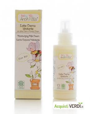Latte-crema idratante Baby Anthyllis - Pierpaoli - Mamme e Bimbi, Igiene per il Bambino, Per la Persona, Cosmesi e Igiene Personale