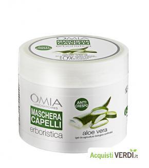 Maschera Capelli Aloe - Omia laboratoires - Per la Persona, Cosmesi e Igiene Personale, Cosmesi