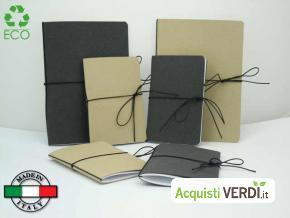 Notes con copertina in cuoio rigenerato - Gadgetpersonalizzato by Autori - GPP, Gadget, Cancelleria, Quaderni e Agende, Ho.Re.Ca., Per te, Idee regalo