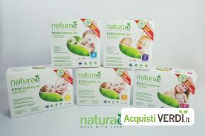 Pannolini compostabili Naturaè - Ferred - Per la persona, Mamme e Bimbi, Pannolini