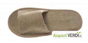 Pantofole riutilizzabili in juta - Fas Italia - Ho.Re.Ca., Prodotti cortesia