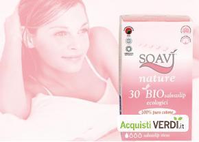 Salvaslip stesi Soavì Nature - Farmac Zabban - Per la Persona, Cosmesi e Igiene Personale, Igiene Femminile
