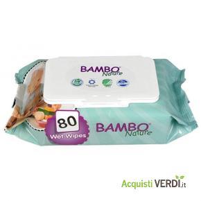 Salviettine umidificate Bambo Nature - Bimbo e Natura - Mamme e Bimbi, Igiene per il Bambino