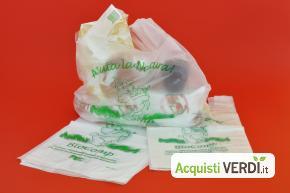 Shopper biodegradabili  - GROSSI CARTA MANTOVA S.P.A. - Per la Casa, Rifiuti, Raccolta Differenziata, Per la Scuola, Gestione Rifiuti, Raccolta Differenziata Professionale, Eco Ristorazione, Imballaggi, Per il GPP, Eventi Sostenibili, Per gli Alberghi, Per l'Azienda