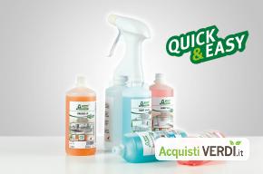 Sistema Quick & Easy - Werner & Mertz Professional - Prodotti pulizia superfici