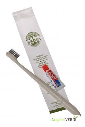 Spazzolino denti biodegradabile - Fas Italia - Ho.Re.Ca., Prodotti cortesia
