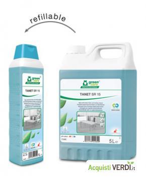 TANET SR 15 - Detergente ad alte prestazioni - Werner & Mertz Professional - Eco Ristorazione, Pulizia e Igiene, Superfici (pulizia professionale), Per gli Alberghi, Eventi Sostenibili, Per il GPP, Per l'Azienda, Per la Scuola