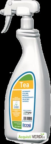 TEA - Multiuso autoasciugante per vetri e superfici - È COSÌ  - GPP, Pulizia e prodotti per l'igiene, Prodotti pulizia superfici, Ho.Re.Ca.