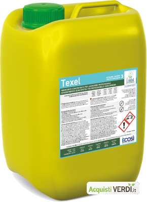 TEXEL sbiancante - È COSÌ  - GPP, Pulizia e prodotti per l'igiene, Prodotti pulizia tessuti
